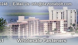Daytona Bolt & Nut - Wholesale Fasteners - Call Us Today: 386.255.0248